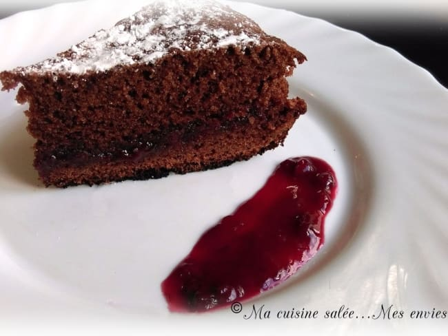 Moelleux chocolat cerise