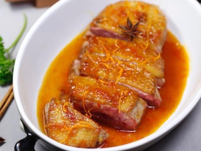 Magret de canard au pomelo et aux épices