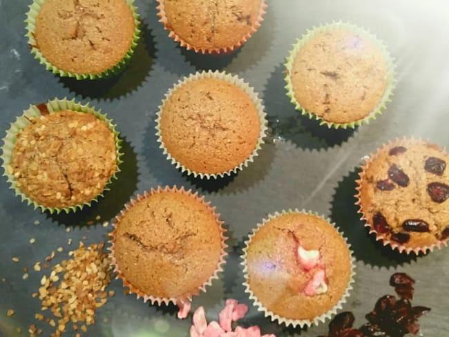 Muffin à la farine de châtaigne
