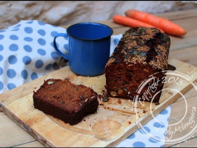 Carrot cake aux fruits secs