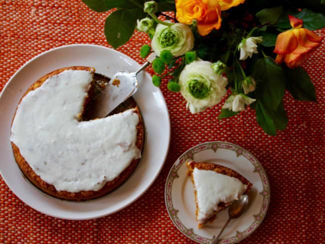 Carrot cake by Rose Bakery