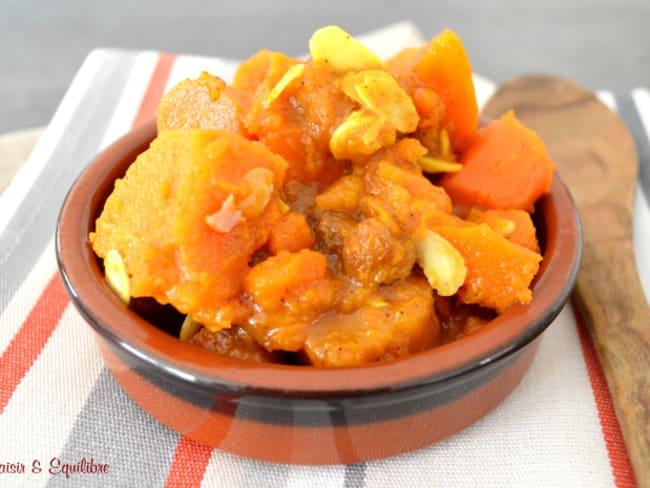 Tajine de légumes oranges