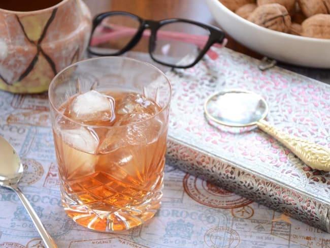Cocktail au pineau des Charentes