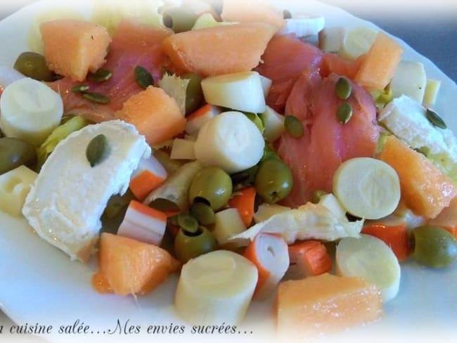 Salade aux 9 ingrédients