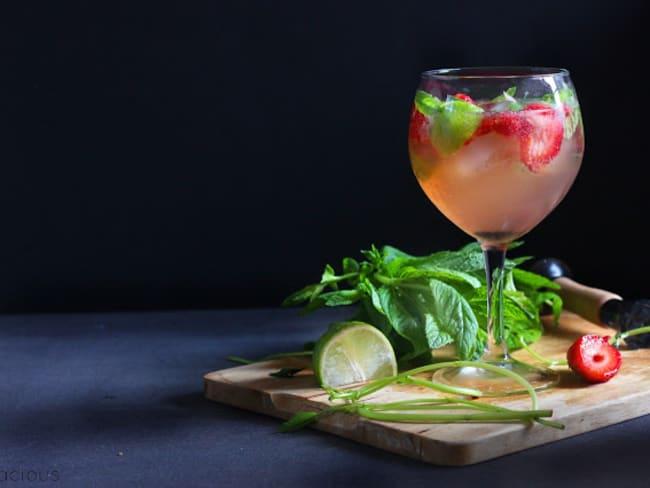 Cocktails rafraîchissants à la menthe