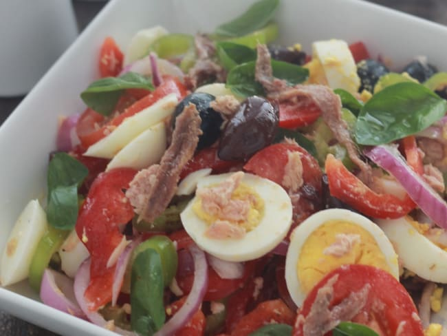 Salade niçoise classique
