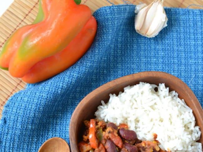 Chili con tempeh