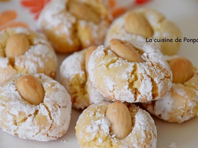Amaretti parfumé au yuzu et à la fleur d'oranger