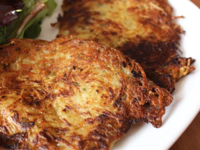 Criques ardéchoises, röstis ou galettes de pommes de terre