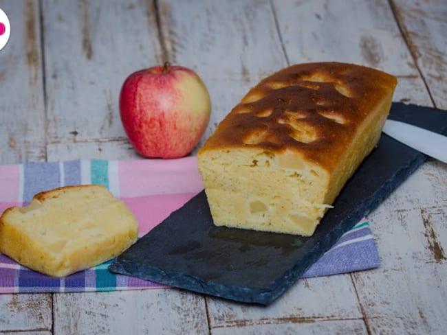 Cake aux pommes et au miel