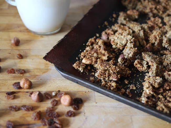Granola protéiné sans sucre ajouté