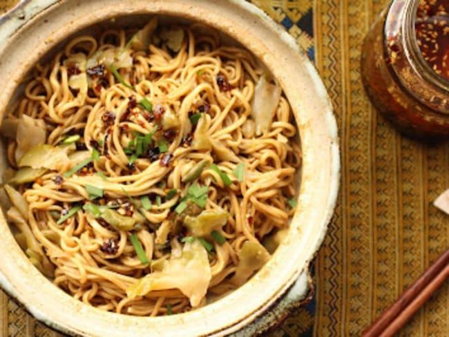 Nouilles Wuhan à la sauce sésame