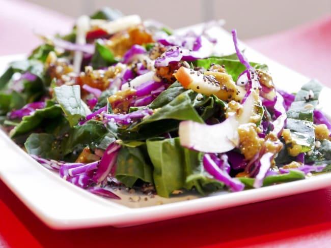 Salade composée alcaline