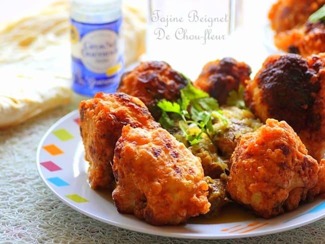 Beignet de chou fleur sauce blanche algérien