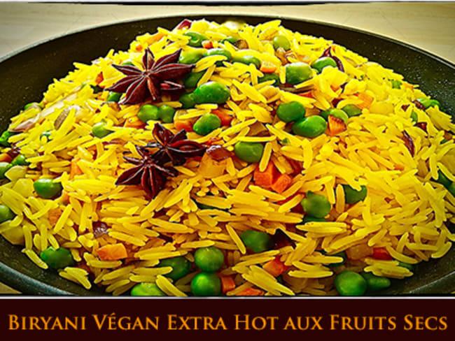 Byriani extra hot aux fruits secs