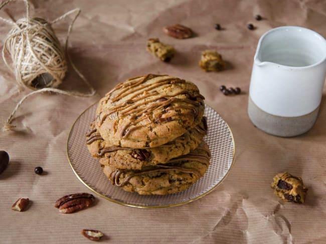 Cookies chocolat praliné