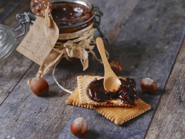 Pâte à tartiner chocolat praliné