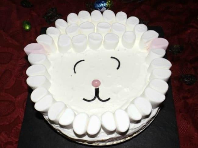 Gâteau mouton de Pâques