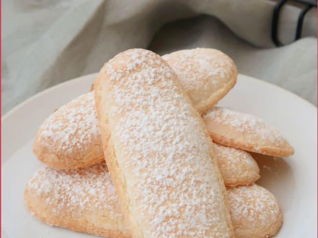 Biscuits à la cuillère sans oeufs