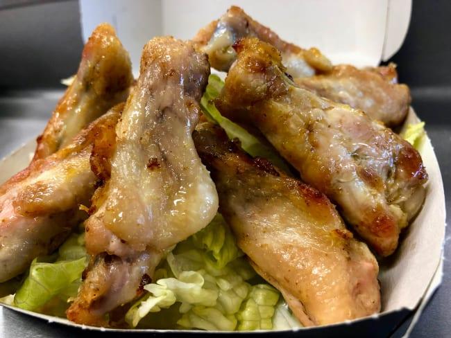 Ailerons de poulet rôtis aux herbes