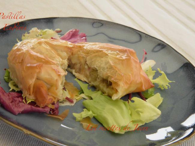 Pastillas aux fruits de mer
