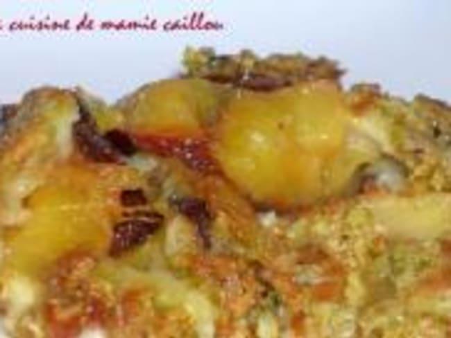 Clafoutis aux Prunes d'Ente et Pistaches