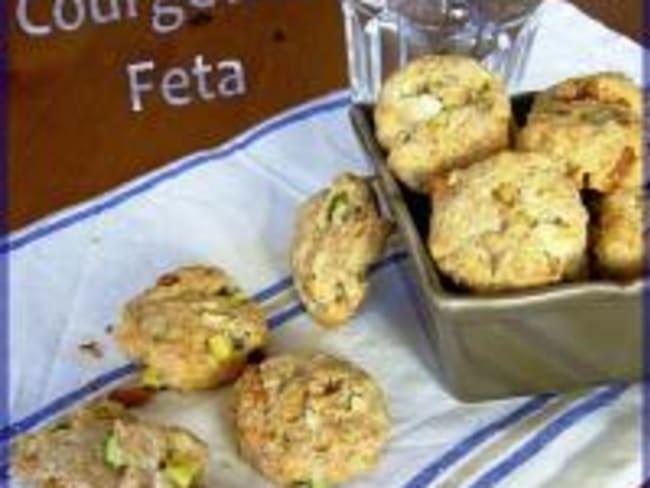 Cookies Courgette et Feta
