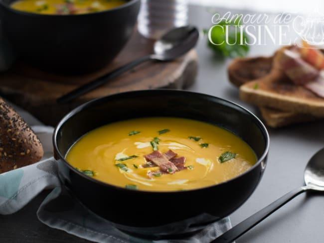 soupe velouté de potimarron