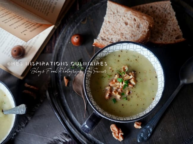 Soupe d'hiver au salsifis