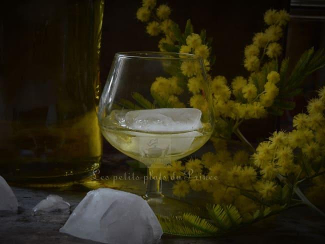 Sirop de fleurs de mimosa