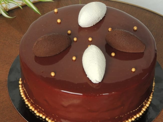 Entremets par amour du chocolat