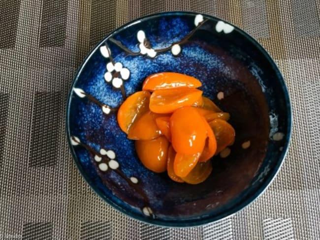 Compotée de kumquat