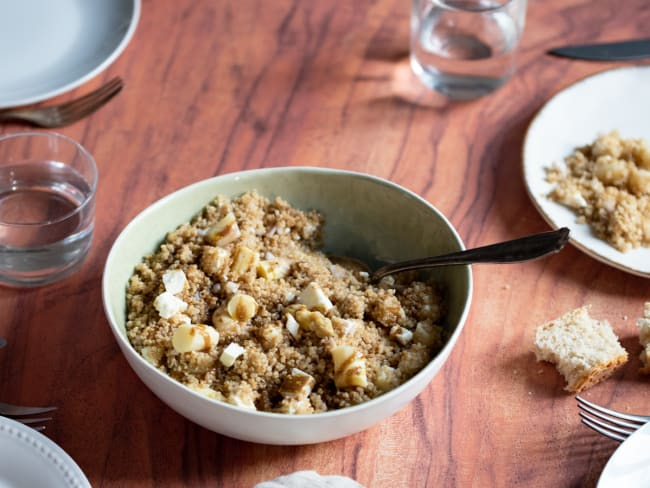 Salade quinoa asperges feta