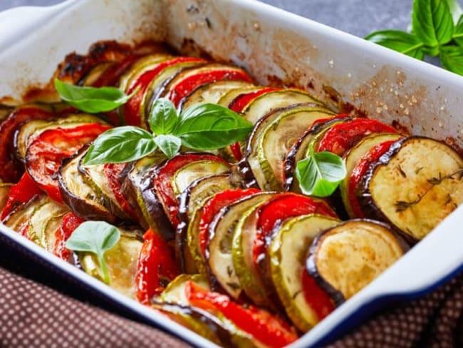 Tian de légumes à la provençale