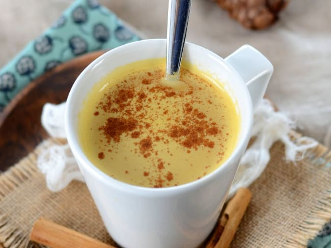 Café latte à la courge et aux épices
