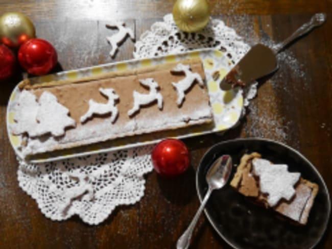 Tarte soufflé cannelle chocolat