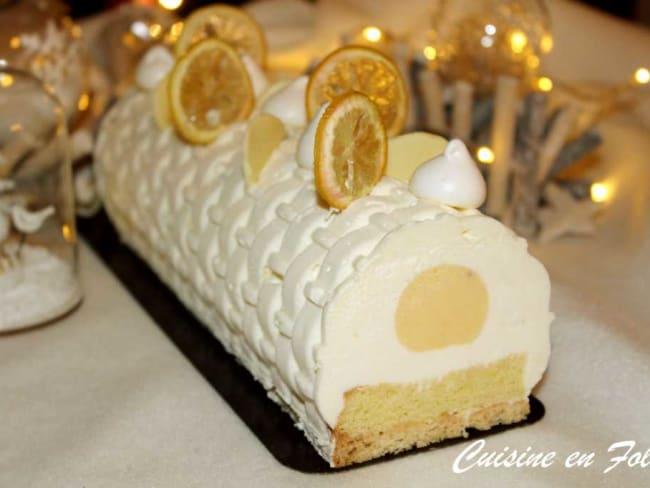 Bûche au citron