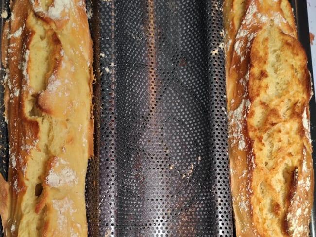 Baguettes maison faciles et sans pétrissage