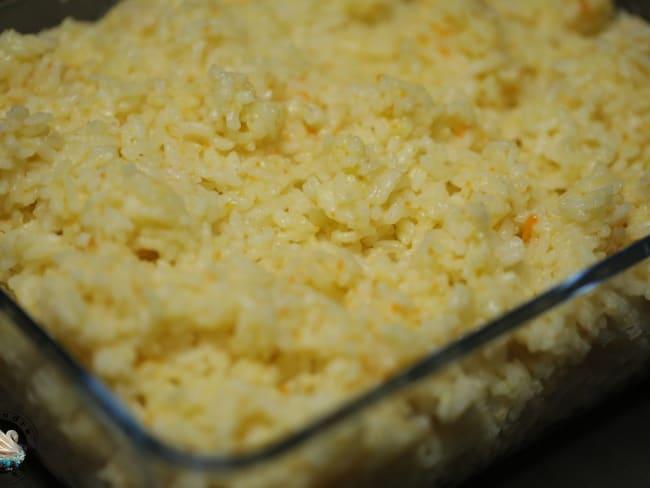 Riz portugais aux carottes