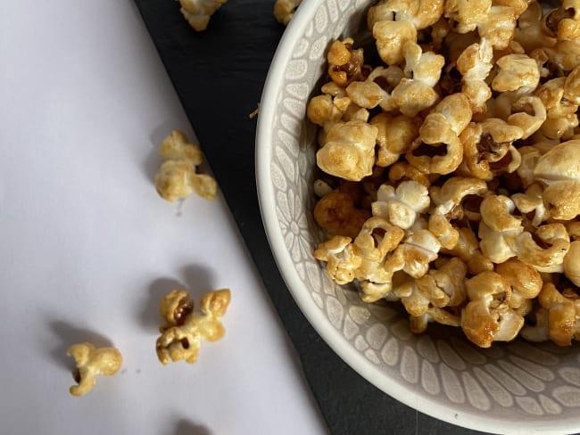 Pop corn Healthy caramélisé