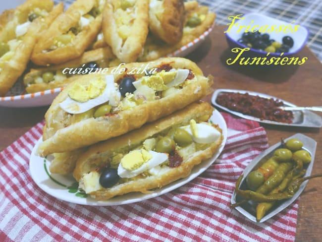 Fricassés tunisiens