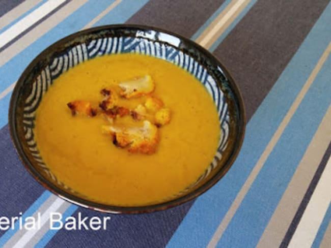 Soupe de chou-fleur rôti aux épices