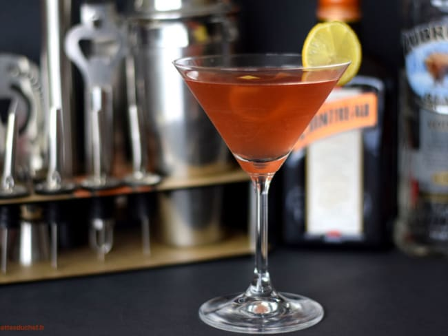 Cocktail Cosmopolitan au Cointreau