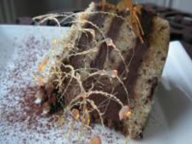 Gâteau Rayé Chocolat