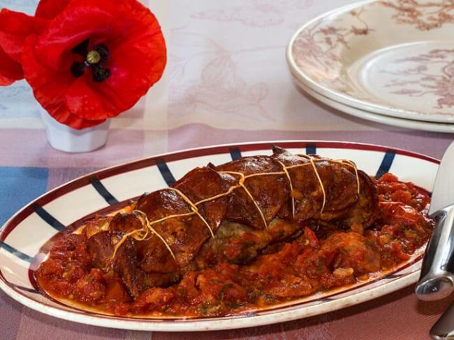 Filet mignon de porc à la catalane