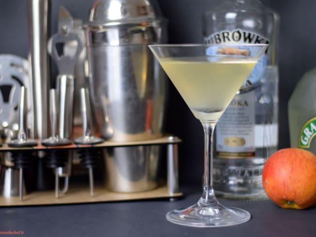Cocktail Vodka Pomme Manzana