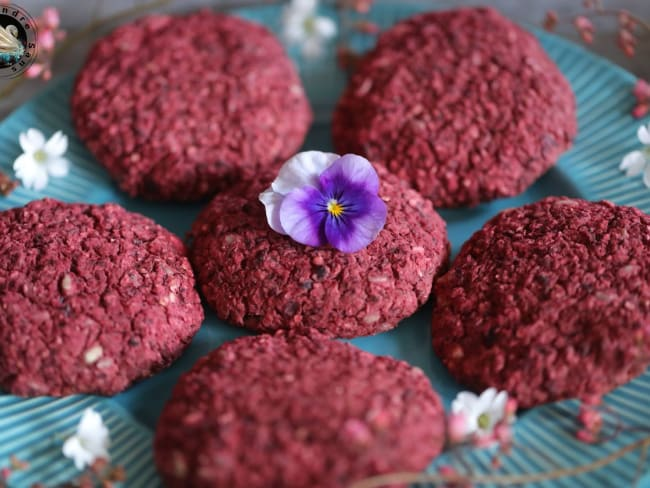 Steaks de betterave aux haricots rouges