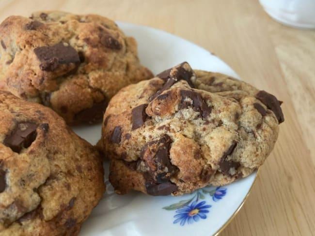 Les cookies aux deux chocolats