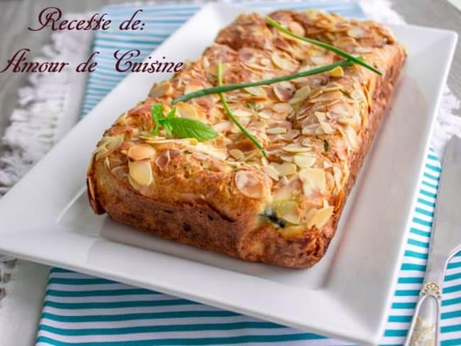pain mi-flan de courgettes