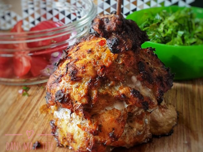 Kebab maison au poulet